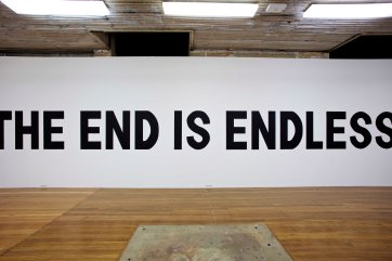 THE END IS ENDLESS, Wall Painting, Detail