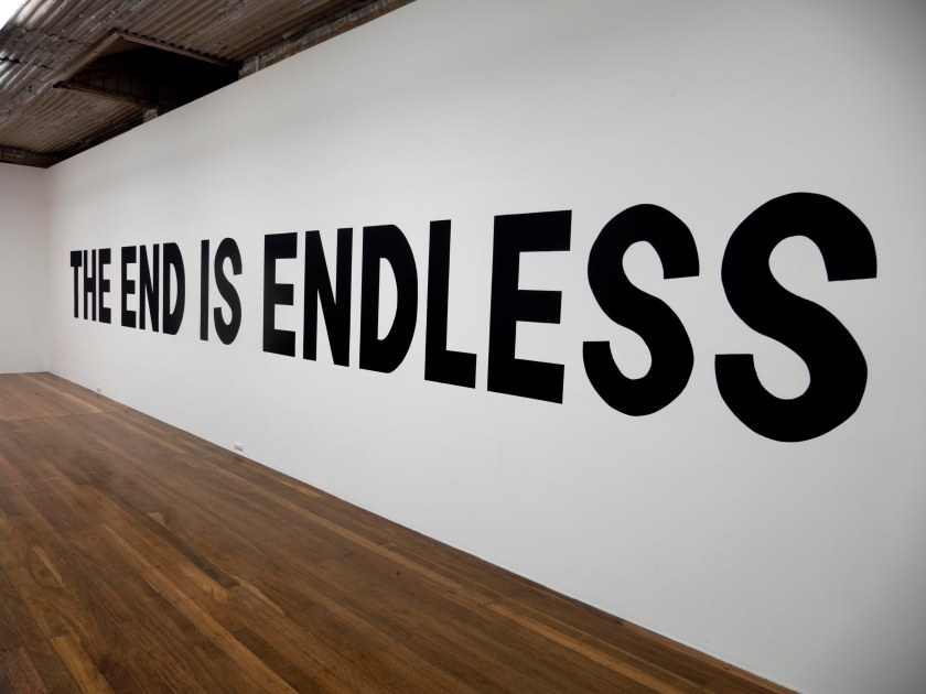 THE END IS ENDLESS, Wall Painting